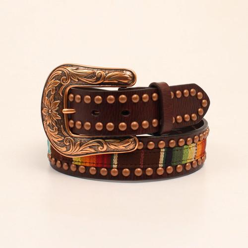 Women's Ariat Belt, Serape with Studs