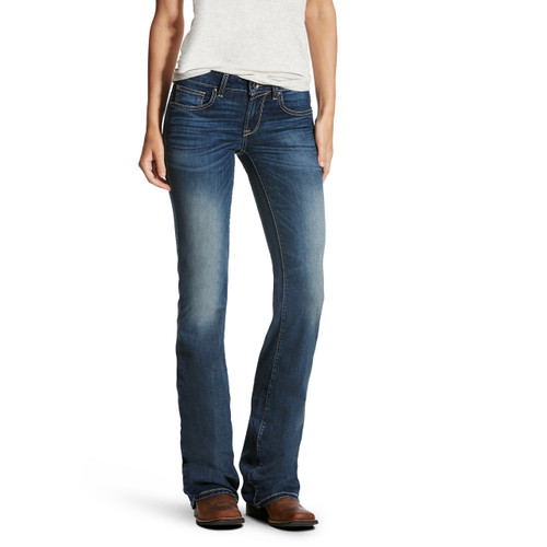 Women's Ariat Jeans, Medium Wash, Bootcut