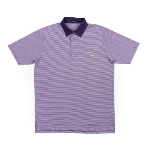 Men's Southern Marsh Polo, Hawthorne, Purple and White