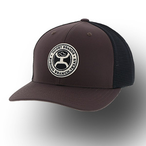 "Men's Hooey Cap, ""Guadalupe"" Brown with Black Mesh"