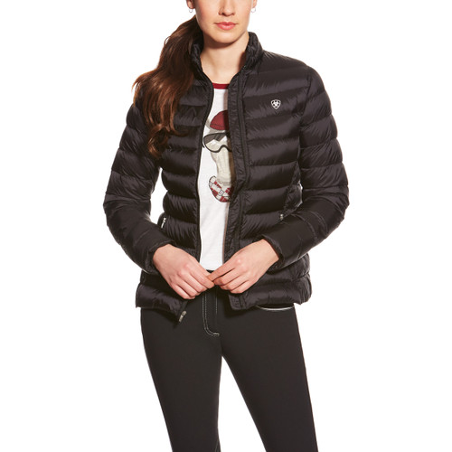 Women's Ariat Jacket, Quilted Down, Black