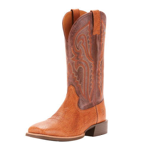Men's Ariat Boot, Heritage Latigo, Tan Bullhide