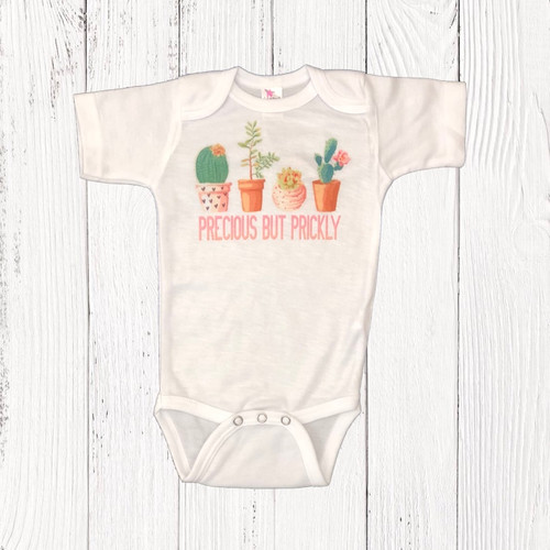 Infant Liberty Linens Onesie, Precious but Prickly