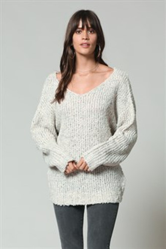 Women's By Together Top, Twist Back, Wool