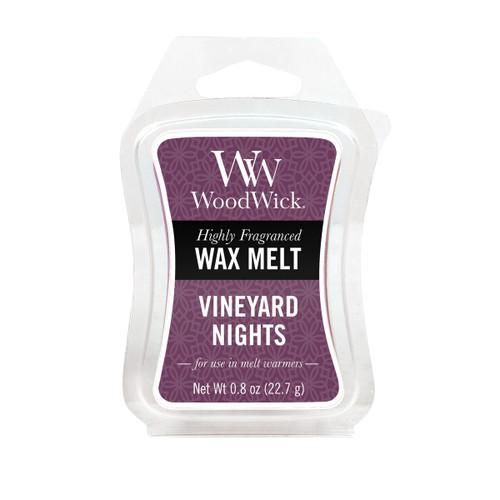 Wood Wick Wax Melt, Vineyard Night