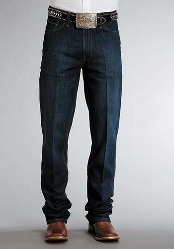 Men's Stetson Jeans, Dark Wash