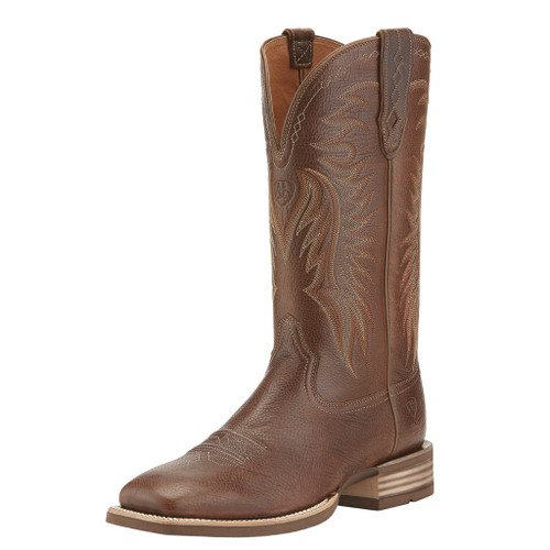 Men's Ariat Boot, Light Brown Vamp, Square Toe