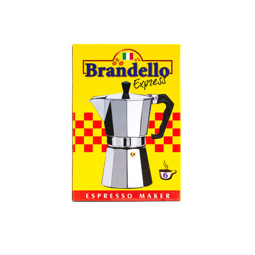 COFFEE MAKER BRANDELLO 6CUP/24