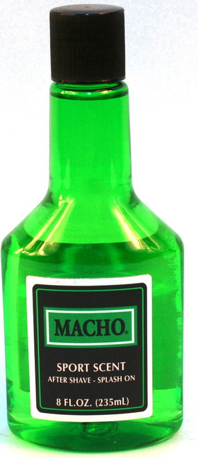 MACHO AFTER SHAVE 8oz
