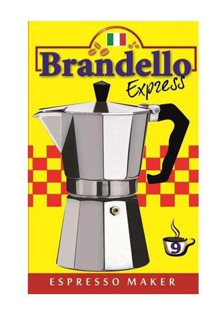 COFFEE MAKER BRANDELLO 9CUP/24