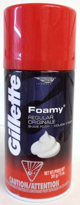 GILLETTE SHAVING FOAM 11oz