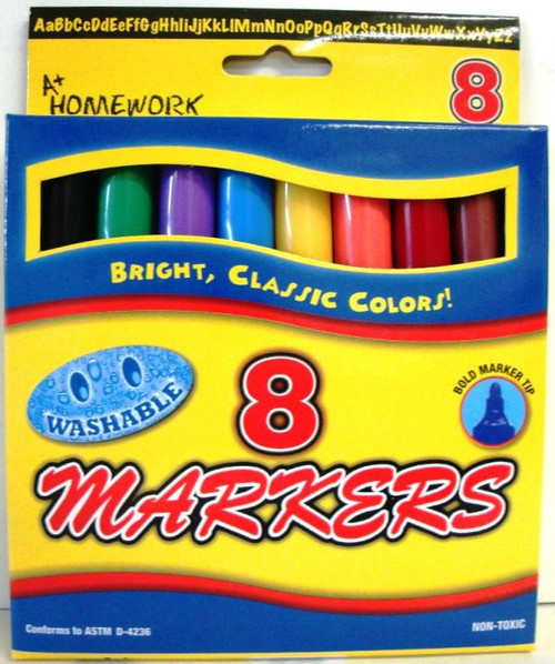 MARKERS 8PK/48