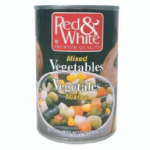 MIXED VEGETABLES 12/15.5oz