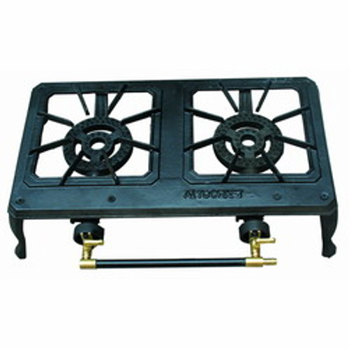 STOVE GAS IRON X 2 BURNER #GAS-GBD