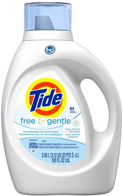 Deeper clean that is gentle on skin vs. leading national competitor Free detergent Dermatologist Recommended Free of Dyes and Perfumes Hypoallergenic First and Only Detergent accepted by both NEA and NPF (National Eczema Association and National Psoriasis Foundation)