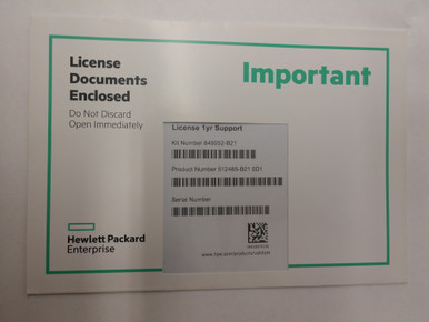 512485-B21 - HPE iLO Advanced including 1yr 24x7 Technical Support and  Updates 1-server LTU - Fornida