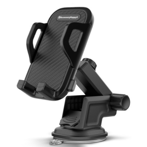 Universal Car Phone Holder for Dashboard Windshield Phone Car Mount Adjustable Multi-Angle Car Cellphone Holders Stand for iPhone 11 or Cell Phone iPhone Galaxy Smartphones