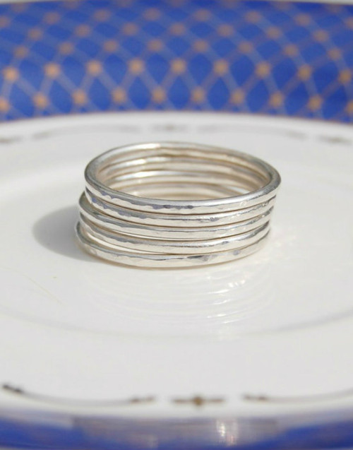 Five stacking rings