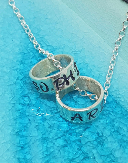 Sterling silver memory beads