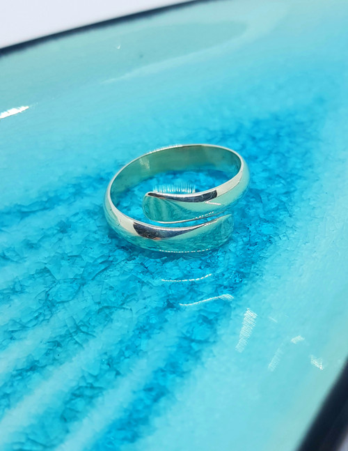 Expandable wrap silver ring - perfect for everyday wear
