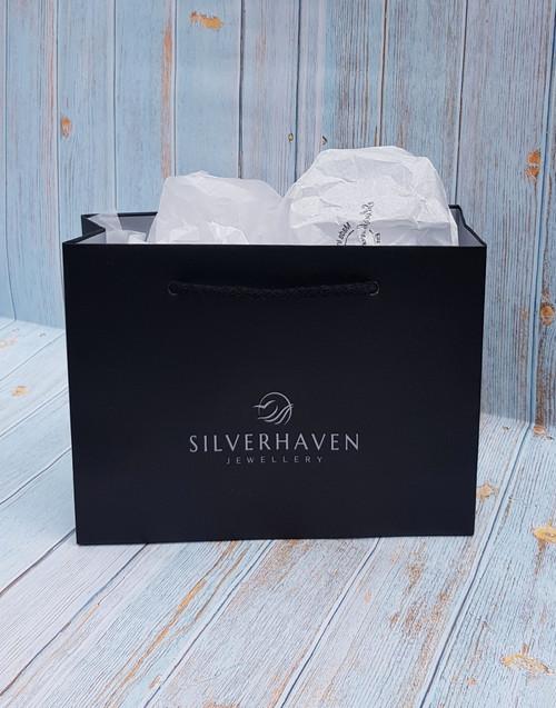 Elegant Silverhaven Jewellery gift bag