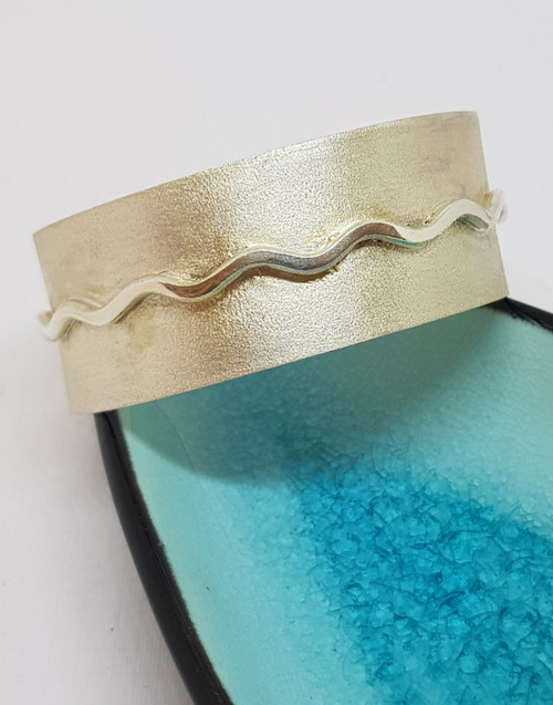 Our sterling silver wave cuff is a great gift for all naval enthusiast