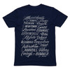 Mens Navy Tee- The Burbs.