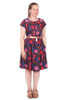 Every Body Jessie Dress Eucalyptus Blossom - LUCKY LAST ONE LEFT - 4X
