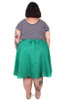 Every Body Valentina Skirt Midi Green