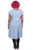 Every Body Imogen Dress Chambray.