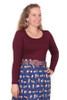 Every Body Autumn Top Scarlet