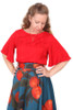 Evelyn Top Portofino red