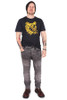 Spot the Leopard Navy Mens T
