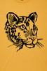 Spot the Leopard Mustard Mens T