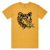 Spot the Leopard Mustard Mens T
