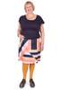 EB Kenzi Skirt Sticky Stripe Navy