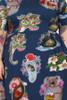 Every Body Jenny Dress States Navy