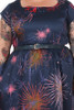 Every Body Aggie Dress Fireworks