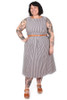 Every Body Mallory Dress Seaside Stripe