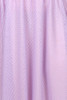 Every Body Party Lights Skirt Lilac Flocked Spot