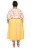 Every Body Party Lights Skirt Sunshine Flocked Spot