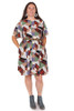 Every Body Evelyn Dress New Year Geo