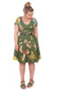 EB Ripley Reversible Dress Borrowed Wattle
