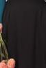 EB Midi Valentina Tencel Black