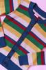 Clementine Cardie Rainbow Stripe
