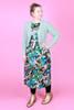 Winnie Reversible Dress Garden Tale