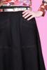 Paige Skirt Black Night