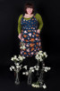 Piper Pinafore Flannel Flowers
