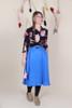 Valentina Skirt Midi Bluebird