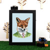 Ryan Berkley Red Fox Framed Print